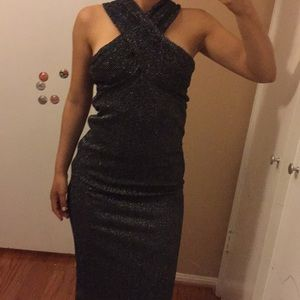 Zara mid length dress. Fits s